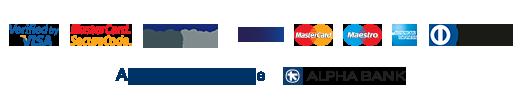 Αlpha Βank logos