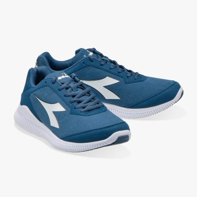 Diadora Eagle 2S W colony blue/white