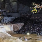 Dany Torres of (Spain performs during the finals of the second stop of the Red Bull X-Fighters World Tour at the Dionyssos Marble Quarry in Athens, Greece on June 12, 2015. // Predrag Vuckovic/Red Bull Content Pool // P-20150613-00128 // Usage for editorial use only // Please go to www.redbullcontentpool.com for further information. //