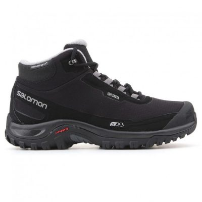 Salomon Shelter CS WP Black Black Frost Gray